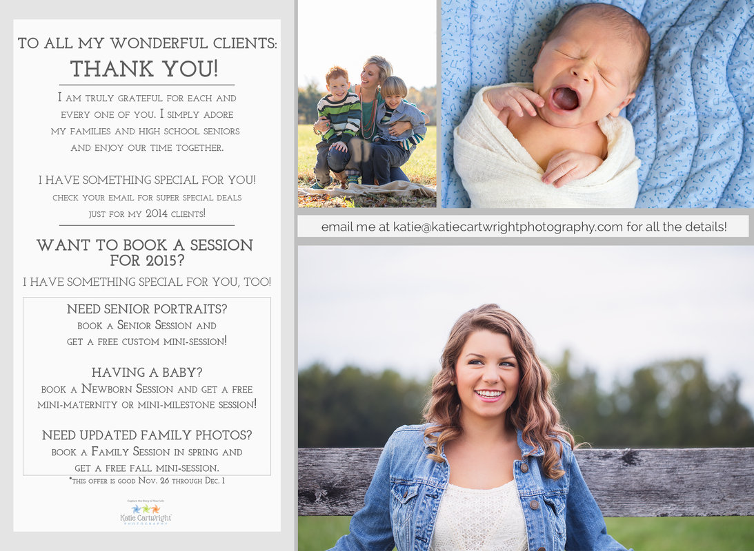 Thank You, Ashland VA Senior Portraits, Ashland VA Newborn Photographer